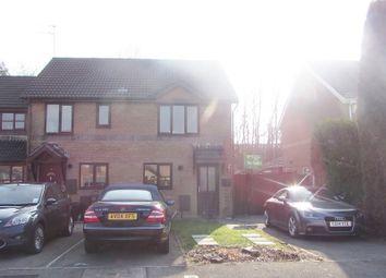 Thumbnail 2 bed semi-detached house for sale in Heol Ewenny, Pencoed, Bridgend.