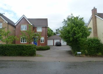 Thumbnail 4 bed detached house to rent in Brook Farm Road, Saxmundham