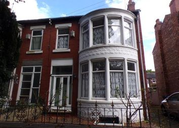 Thumbnail 3 bedroom semi-detached house for sale in Plumbley Drive, Old Trafford, Greater Manchester
