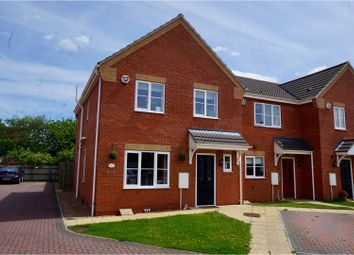 Thumbnail 4 bed end terrace house for sale in Jubilee Close, Cherry Willingham