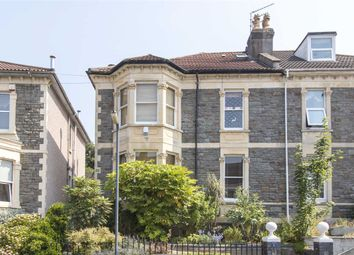 Thumbnail 5 bed semi-detached house for sale in Elton Road, Bishopston, Bristol