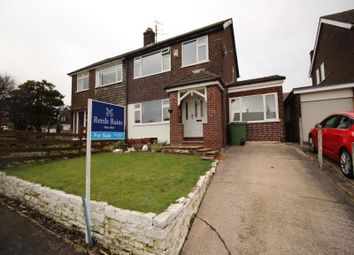 Thumbnail 3 bedroom semi-detached house for sale in Oakfield Road, Hadfield, Glossop