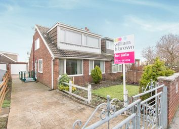 Thumbnail 5 bed semi-detached bungalow for sale in Tyersal Crescent, Tyersal, Bradford