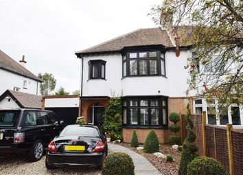 Thumbnail 4 bed semi-detached house for sale in Kenilworth Gardens, Westcliff-On-Sea, Essex