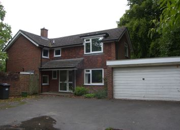 Thumbnail 4 bed detached house to rent in Gally Hill Road, Church Crookham, Fleet