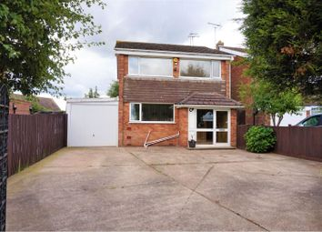 Thumbnail 3 bed detached house for sale in Rotherham Road, New Houghton