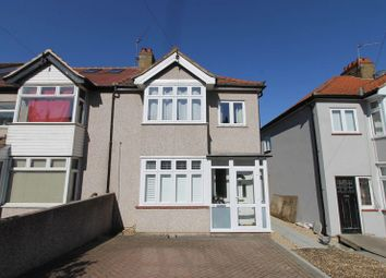 Thumbnail 3 bed semi-detached house for sale in Brinkley Road, Worcester Park