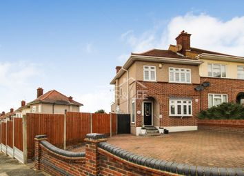 Thumbnail 3 bed semi-detached house for sale in Silvermere Avenue, Collier Row, Romford, Essex