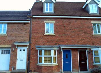 Thumbnail 3 bed terraced house for sale in Vistula Crescent, Swindon