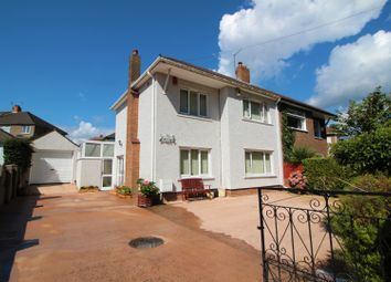 Thumbnail 3 bed semi-detached house for sale in Elgar Crescent, Cardiff