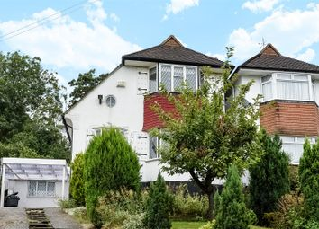 Thumbnail 4 bed semi-detached house for sale in Glenhurst Rise, London