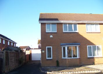 Thumbnail 3 bed detached house to rent in York Close, Weston-Super-Mare