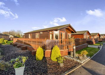 Thumbnail 2 bed bungalow for sale in Amotherby Lodges Amotherby Lane, Amotherby, Malton