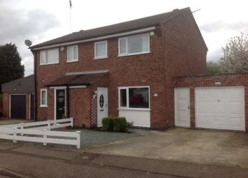 Thumbnail 3 bed semi-detached house to rent in Holcroft, Orton Malborne, Peterborough