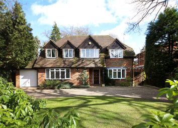 Thumbnail 4 bed detached house for sale in Furzefield Road, Beaconsfield