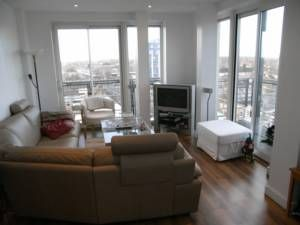 Thumbnail 2 bed flat to rent in The Pinnacle, 160 High Rd