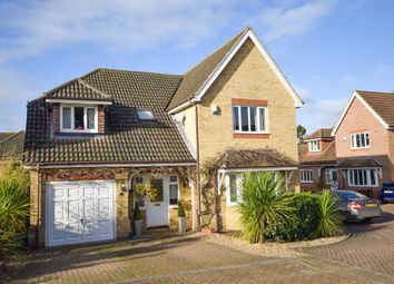 Thumbnail 4 bed detached house for sale in Hillside Meadow, Fordham, Ely