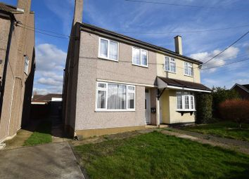 Thumbnail 3 bed semi-detached house to rent in Gordon Road, Horndon-On-The-Hill, Stanford-Le-Hope