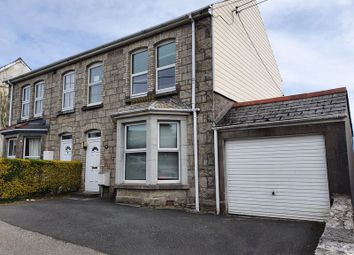 Thumbnail 3 bed semi-detached house for sale in Tregonissey Road, St. Austell