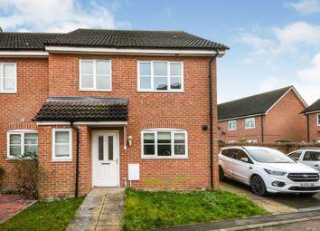 Thumbnail 4 bed semi-detached house for sale in Watlington, Kings Lynn, Norfolk