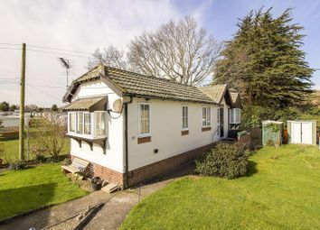 Thumbnail 1 bed mobile/park home for sale in Prince Of Wales Residential Park, Burmarsh Road, Hythe
