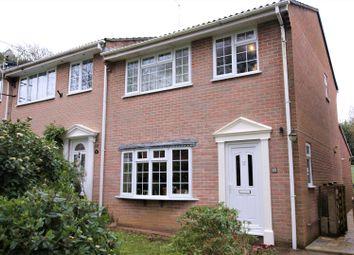 Thumbnail 3 bed end terrace house for sale in Hillside Mews, Corfe Mullen, Wimborne, Dorset
