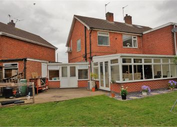Thumbnail 3 bedroom semi-detached house for sale in Richard Close, Leicester