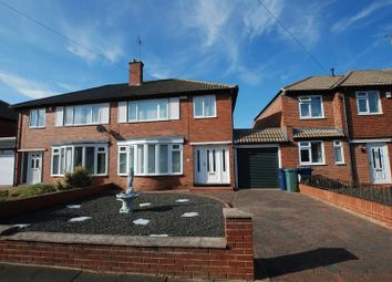 Thumbnail 3 bedroom semi-detached house for sale in Regent Farm Road, Gosforth, Newcastle Upon Tyne