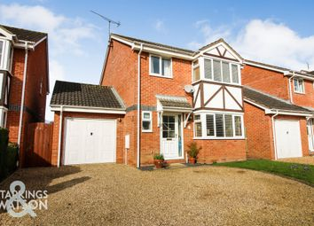 Thumbnail 4 bed detached house for sale in Harvest Close, Hainford, Norwich