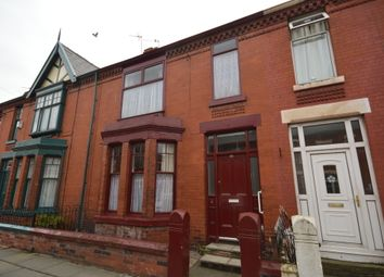 Thumbnail 4 bed terraced house for sale in Milton Road, Liverpool