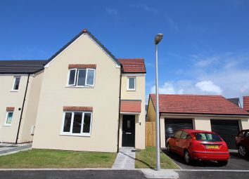 Thumbnail 3 bed detached house to rent in 2 Gleneagles Close, Hubberston, Milford Haven