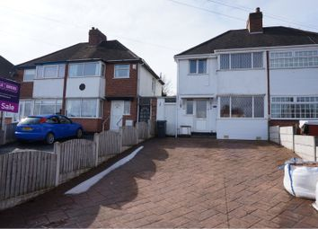 Thumbnail 3 bed semi-detached house for sale in Heston Avenue, Great Barr, Birmingham