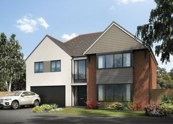 Thumbnail 4 bedroom detached house for sale in Holystone Way, Holystone, Newcastle Upon Tyne