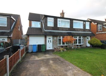 Thumbnail 4 bed semi-detached house for sale in Arundel Avenue, Urmston, Manchester