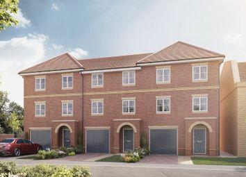 "Thumbnail 4 bedroom terraced house for sale in ""The Kensington"" at Hersham Road, Hersham"