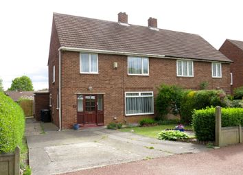 Thumbnail 4 bedroom semi-detached house for sale in The Cross Way, Kenton, Newcastle Upon Tyne