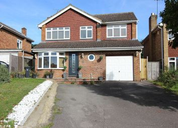 Thumbnail 4 bed detached house to rent in Alphington Avenue, Frimley, Camberley