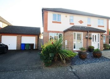 Thumbnail 3 bed semi-detached house for sale in Galena Close, Sittingbourne