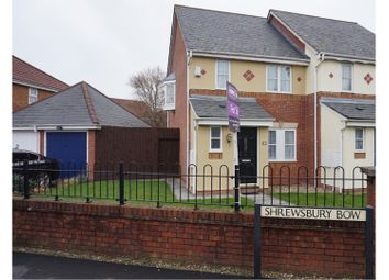 Thumbnail 3 bed end terrace house for sale in Shrewsbury Bow, Weston-Super-Mare