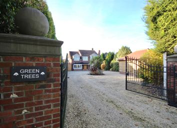 Thumbnail 4 bed detached house for sale in Hoads Hill, Wickham, Fareham