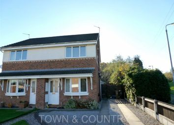 Thumbnail 2 bed semi-detached house to rent in Titian Close, Deeside, Flintshire