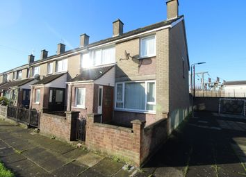 Thumbnail 3 bed terraced house for sale in St. Gallen Place, Bangor