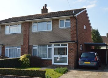 Thumbnail 3 bed semi-detached house for sale in Ernest Close, Emsworth