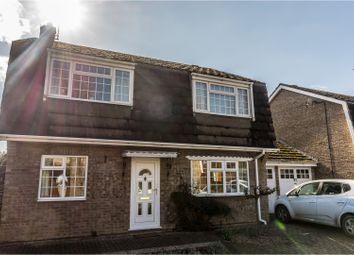 Thumbnail 3 bed detached house for sale in Lancing Close, Peterborough
