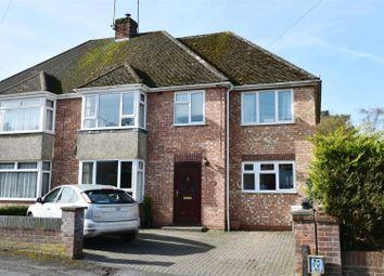 Thumbnail 4 bedroom semi-detached house for sale in Paddock Road, Newbury