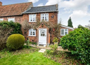 Thumbnail 2 bed end terrace house for sale in Old Post Office Lane, Kirby Cane, Bungay