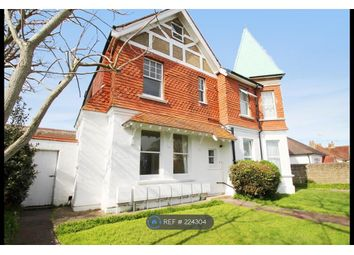 Thumbnail 1 bed flat to rent in Reigate Road, Worthing