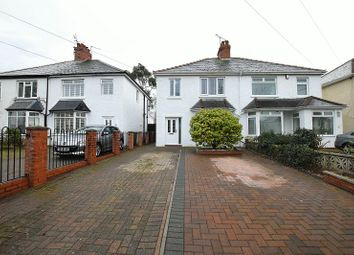 Thumbnail 3 bed semi-detached house for sale in Pantbach Road, Rhiwbina, Cardiff.