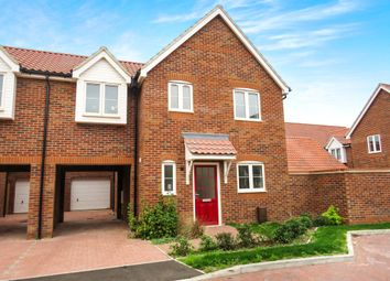 Thumbnail 3 bedroom link-detached house for sale in Mildenhall Road, West Row, Bury St. Edmunds