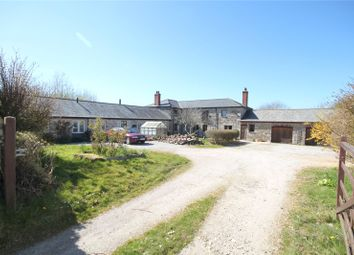 Thumbnail 6 bed barn conversion for sale in Goonreeve, St. Gluvias, Penryn